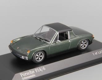 PORSCHE 914/6 (1970), green