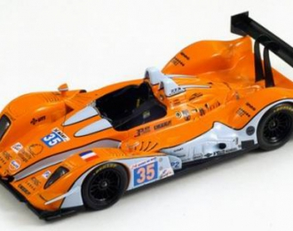 OAK Pescarolo-Judd BMW OAK Racing 35 25th LM 2011 A. Barlesi - F. Da Rocha - P. Lafargue, orange