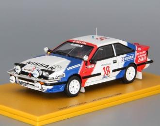 (Уценка!) NISSAN 200SX 2nd Safari Rallye #18 (1988), white / red / blue