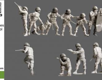 Сборная модель Спецназ ФСКН