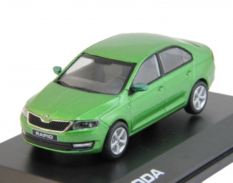 SKODA Rapid (2012), rallye green metallic