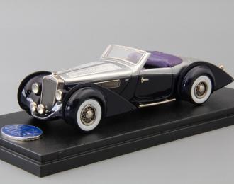 DELAGE D8-120 De Villars Samuel Mann Collection Open, silver / blue / purple