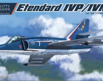 Сборная модель Французский палубный разведывательный самолет Dassault-Breguet Super Etendard IVP / истребитель Super Etendard IVM