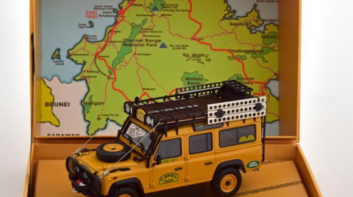 LAND ROVER DEFENDER 110 - 'CAMEL TROPHY' - DIRTY VERSION