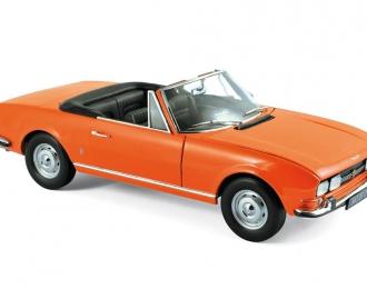 PEUGEOT 504 Cabriolet (1970), capucine yellow