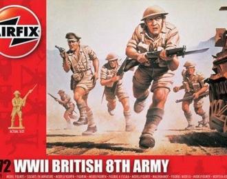 """Сборная модель Британская пехота """"8-я армия"""" (Вторая Мировая война)"""
