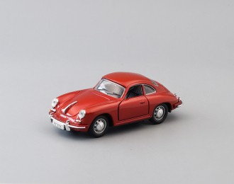 PORSCHE 356B Coupe, red metallic