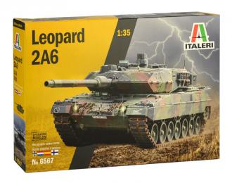 Сборная модель Leopard 2A6