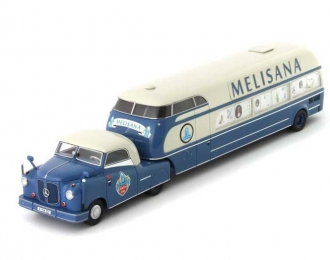 "Mercedes-Benz L312 BUHNE ""MELISANA"" white/blue Germany 1950"