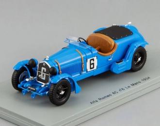 ALFA ROMEO 8C No.6 Le Mans E. Howe - T. Rose Richards (1934), blue