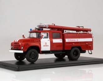 АЦ-40 (130) Воронеж, красный