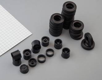 Резина, диски для КамАЗ 5410 с п/п, волна