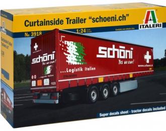 """Сборная модель Прицеп Curtainside Trailer """"Schoeni.ch"""""""