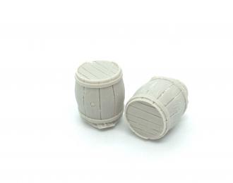 Бочка деревянная малая (Вариант 2), комплект 2 шт