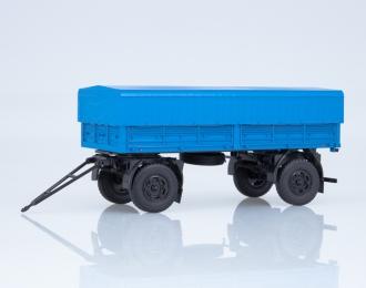 Прицеп МАЗ-8926 с тентом, синий