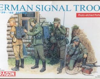 Сборная модель German Signal Troops