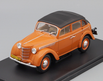 МОСКВИЧ-400-420A (с тентом), Легендарные Советские Автомобили 72