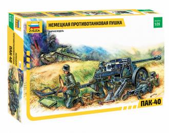 Сборная модель Противотанковая пушка ПАК-40