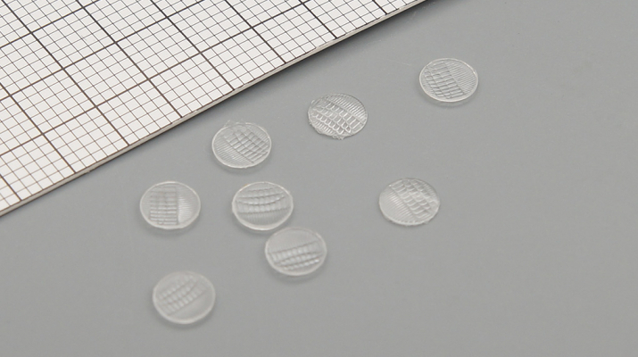 Комплект линз для фар (с рифлением) FORD (Горький) (4,7 мм), 8 шт