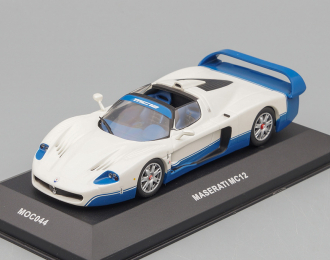 MASERATI MC12 Road Version Open2005  Pearl White / Blue