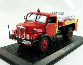 IFA S 4000-1 SW 7, серия грузовиков от Atlas Verlag, красный