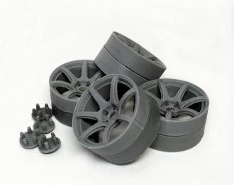 Комплект дисков WORK EMOTION T7R Ultra Deep 18 дюймов