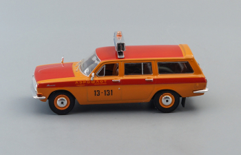 (Конверсия!) Горький 24-02 Аэрофлот, Автомобиль на службе 21, оранжевый