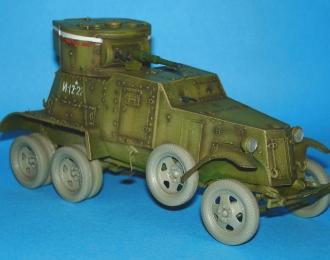 Колеса для Горький-AAA и бронеавтомобиль БА