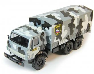 Камский грузовик ОМОН, камуфляж