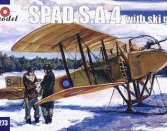 Сборная модель Французский истребитель Spad S.A.4