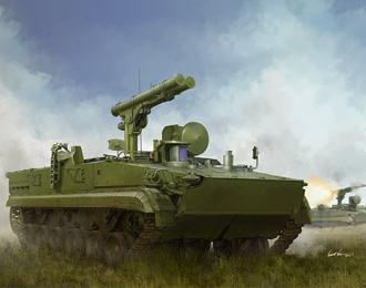 Сборная модель Russian 9P157-2 Khrizantema-S Anti Tank System