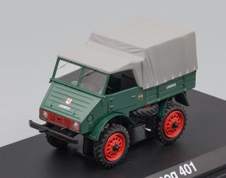 MERCEDES-BENZ Unimog 401 4x4, green