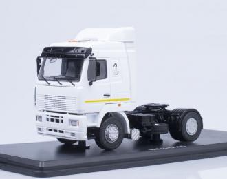 МАЗ 5440 седельный тягач, белый