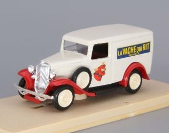 """CITROEN Camionnette 500 kg """"La Vache Qui Rit"""" (1934), белый/красный"""