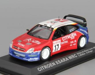 CITROEN Xsara WRC #17 C.McRae - D.Ringer Rally de Monte Carlo (2003), red