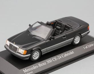 MERCEDES-BENZ 300 CE-24 Cabriolet 1990, black