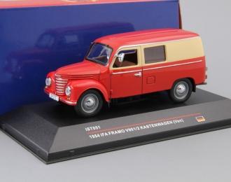 IFA FRAMO V901/2 Kastenwagen (1954), red