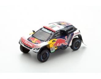 Peugeot 3008 DKR #307 3rd Dakar 2017 C. Despres - D. Castera