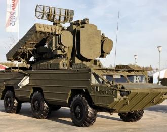 "Сборная модель ЗРК ""Оса"" на шасси БАЗ-5937"