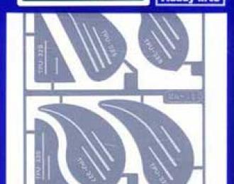 Набор пилок для моделирования TP-4 (HASEGAWA)