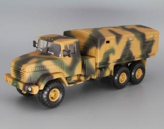 КРАЗ 6322 бортовой с тентом, камуфляж