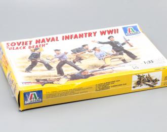 "Сборная модель Soviet Naval Infantry WWII ""Black Death"""