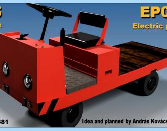 Сборная модель EP001 electric platform truck