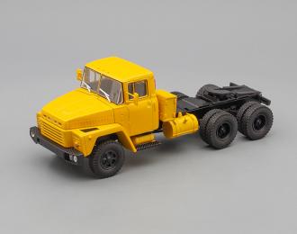 КРАЗ 252 седельный тягач (1979-1990), желтый