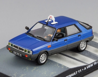 RENAULT 11 Taxi A View to a Kill (1985), blue