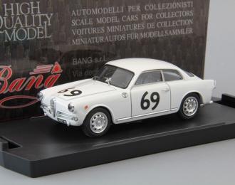 ALFA ROMEO Giulietta Sp. Veloce Zeltweg Carlo Peroglio #69 (1957), white