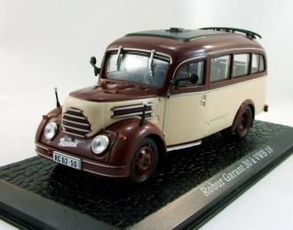 (Уценка!) ROBUR Garant 30k VWB 18, серия грузовиков от Atlas Verlag, beige / brown