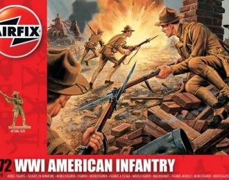 Сборная модель Американская пехота (Первая Мировая война)