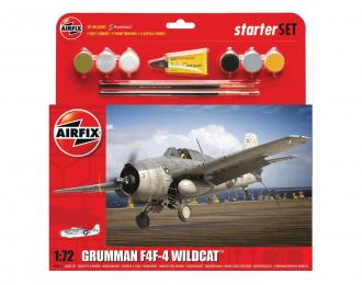 Сборная модель Grumman F4F-4 Wildcat