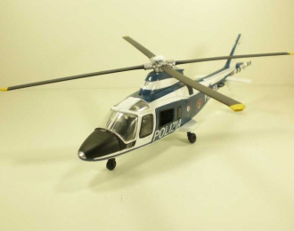 AgustaWestlend AW109N Polizia, Sky Pilot, белый с черным